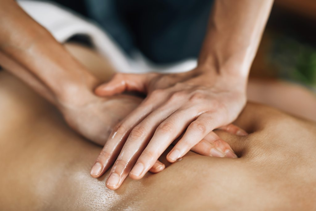 A Back Massage in Vancouver